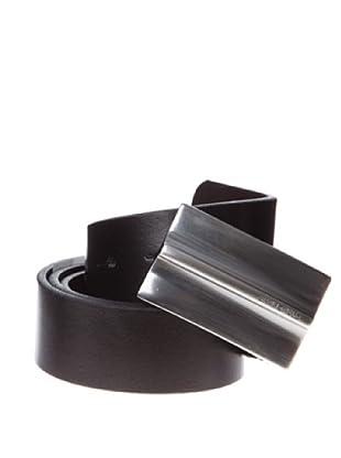 Springfield Cinturón Chapón Vestir Reversible (negro)