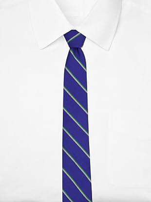 Ben Sherman Men's Arthur Stripe Tie, Cobalt