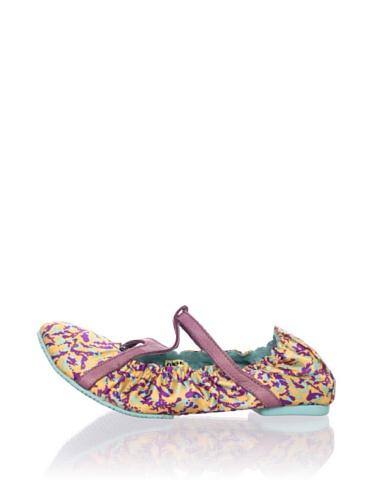 Diesel Kids Strappy Flat Shoe (Purple)