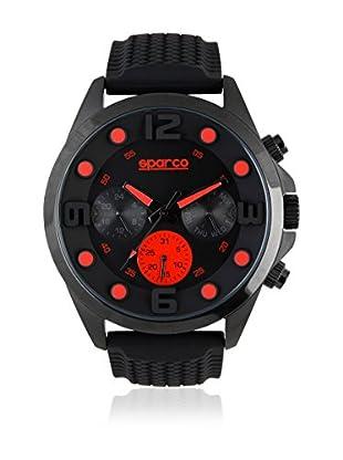 Sparco Quarzuhr Marc schwarz/rot 48 mm