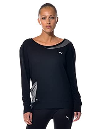 Puma Damen Langarmshirt Move Trend Long -sleeve (Black)