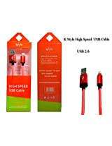 K-style High Speed data Cable for iphone5s/ ipad Air/ipad mini