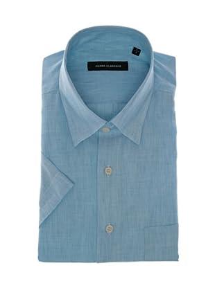 Pierre Clarence Camisa de manga corta (Azul cielo)