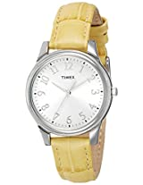 Timex Analog Silver Dial Women's Watch - T2P1286S