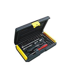 "Stanley 1-89-033 35pcs 1/4"" Sq. Drive Socket Set"