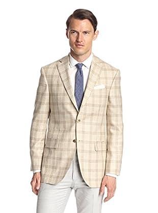 Lanza Men's Plaid Sportcoat