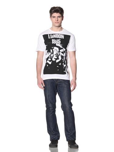 MG Black Label Men's London T-Shirt (White)