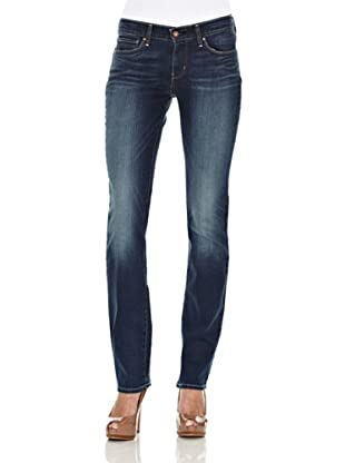 Levi´s Jeans Modern Demi Curve ID gerades Bein (unique blue)