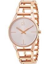 Calvin Klein Silver Dial Women's Watch - K3G23626
