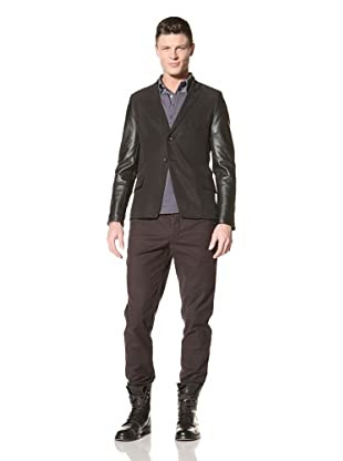 Fremont Men's Romstoy Blazer (Charcoal/Black Sleeve)