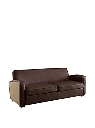 Armen Living Antique Sofa, Brown