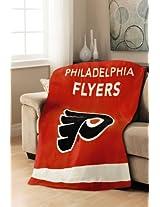 Sunbeam NHL  Fleece Heated Throw, Philadelphia Flyers