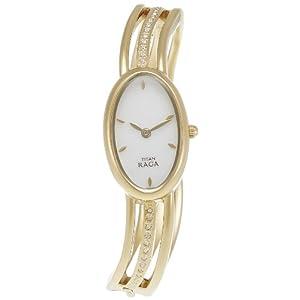 Titan Raga Analog White Dial Women's Watch - NE9938YM01