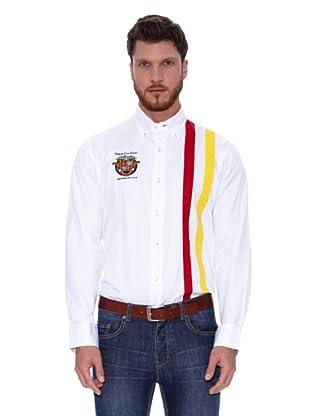 Spagnolo Camisa Gabardina Bribón (Blanco)