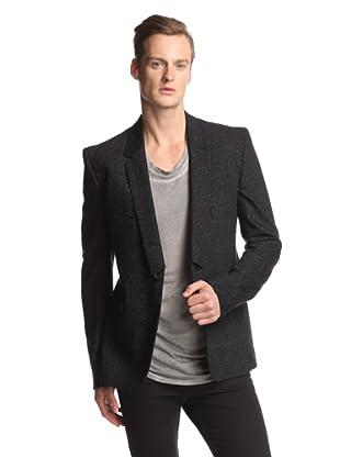 Alexandre Plokhov Men's Single Button Jacket (Black)