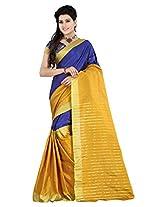 IMANI Women Multicolour Banarsi Silk Saree