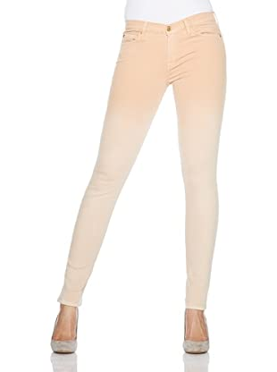 7 for all mankind Jeans The Skinny Faded Slim Illusion (Peach)