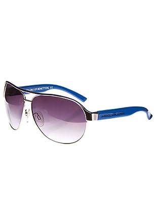 Benetton Sunglasses Gafas de sol BE56602P58 plata/azulón
