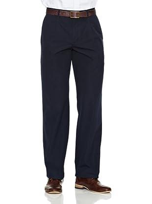 Dockers Pantalón Comfort Poplin (Azul Marino)