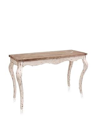 Mercana Bordeaux Table, Natural/White