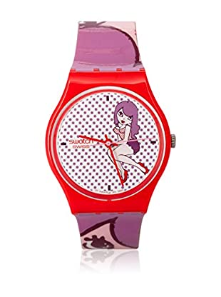 Swatch Quarzuhr Woman PINK SENIORITA GR149 34.0 mm