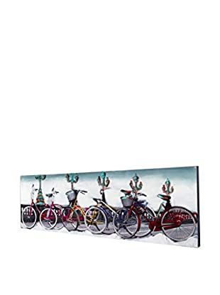 Especial Deco Vertical Gemälde Bicicles