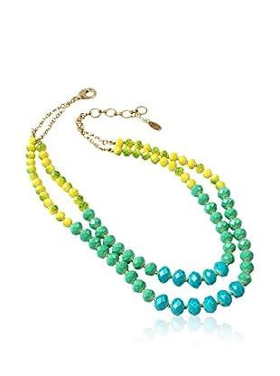 Amrita Singh Collar Bleeker Street Turquoise/Green