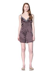 MARNI Women's Lace-Trimmed Jumper (Purple Grey)