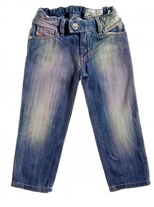 Diesel Kid Jeans Nevy (denimblau/rosa)
