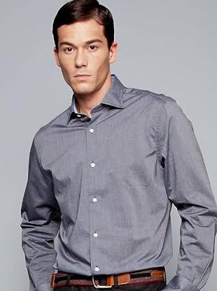 Hackett Camisa Lisa (Gris Oscuro)