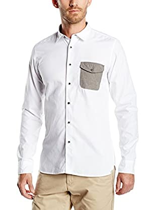 Springfield Hemd Pocket Contrast
