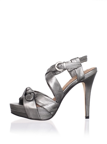 Corso Como Women's Ferran Strappy Sandal (Pewter)