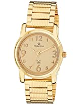 Maxima Analog Gold Dial Women's Watch - 28405CMLY