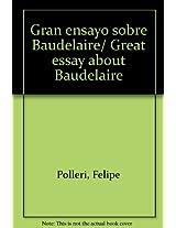 Gran ensayo sobre Baudelaire/ Great essay about Baudelaire