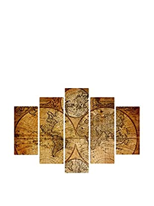 Best seller living Set Panel Decorativo 5 Uds. Fantasia