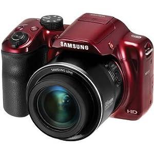 SamsungWB1100F Smart Digital Camera (Red)