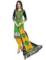 JAVULI pure cotton salwar suit dress material : komal-4678