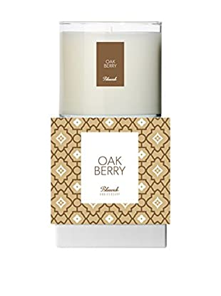 Bluewick 12-Oz. Anniversary Candle, Oak Berry