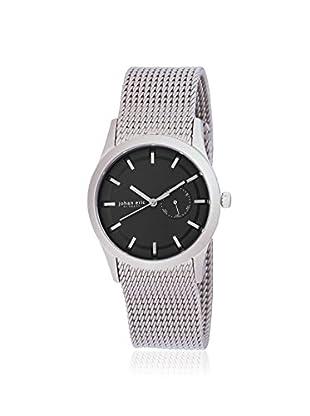 Johan Eric Men's JE1300-04-007 Agersø Silver/Black Stainless Steel Watch