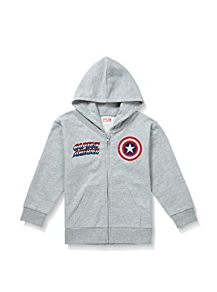 Marvel Kapuzensweatshirt Cpt. America Text & Logo