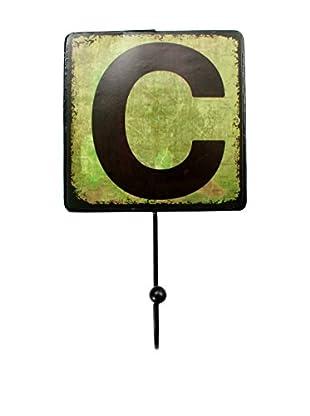 LO+DEMODA Wanddeko Letters Metal C
