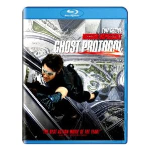 Mission Impossible Ghost Protocol (Blu-ray)