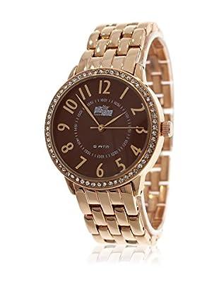 Pit Lane Uhr mit Miyota Uhrwerk Pl-4008-1 rosé 38 mm