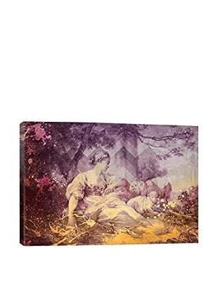 A Shepherdess III Gallery Wrapped Canvas Print