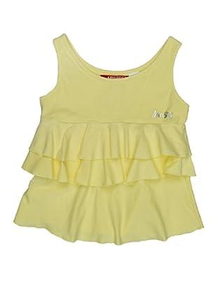 Miss Sixty Kids Camiseta Tirantes (Amarillo)