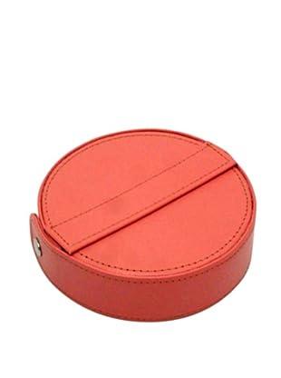 Morelle & Co. Barbara Round Manicure Set (Coral)