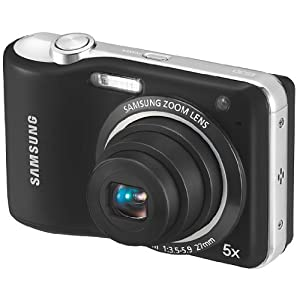 Samsung EC-ES30 Digital Camera (Black) with 5x Optical Zoom