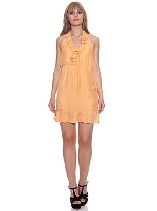 Santa Bárbara Vestido Corto (Naranja)