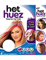 Gadget Hero's Hot Huez Temporary Hair Chalk, Set of 4 Colors
