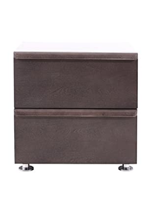 Urban Spaces Boma Nightstand, Gray